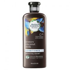Herbal Essences Bio:renew Vitamin E with Cocoa Butter Conditioner, Fl Oz Coconut Milk Shampoo, Shampoo For Curly Hair, Herbal Essences, Best Shampoos, Shampoo And Conditioner, Coconut Conditioner, Kraut, Herbalism, Curly Hair Styles