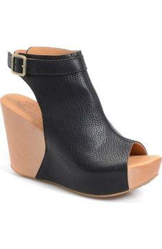 Kork-Ease® 'Berit' Wedge Sandal (Women) available at #Nordstrom