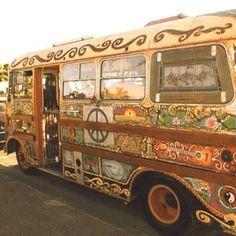 Hippie Bus at Woodstock Paz Hippie, Hippie Style, Boho Hippie, Mundo Hippie, Estilo Hippie, Hippie Vibes, Hippie Peace, Happy Hippie, Hippie Love
