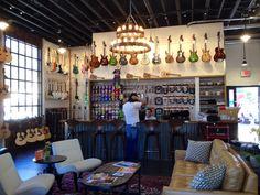 Guitar shop funk zone Santa Barbara