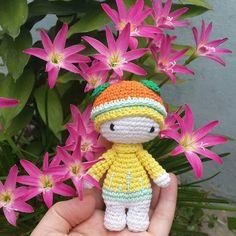 mini lalylala.. Happy Mother's Day!  #mini #tiny #lalylala #amigurumi #crochet…