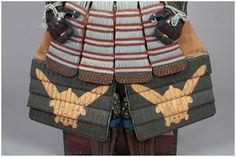 作品解説:浅葱糸威革包二枚胴具足 唐冠形兜付|武具・甲冑を見る - ひょうご歴史ステーション