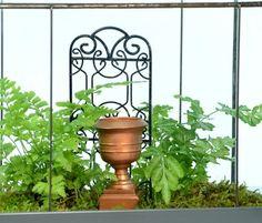 Find a terrarium, garden trellis, window box, Garden Planters for sale at H Potter Metal Trellis, Garden Trellis, Garden Planters, Box Garden, Planters For Sale, Terrarium Supplies, Black Garden, Black Metal, Miniatures