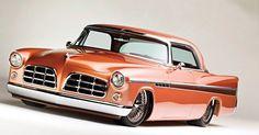Special cars: Chrysler 300B Custom by Troy Trepanier