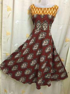 And kalamkari designer tops Price freeshipping Order WhatsApp 7995736811 Latest Salwar Kameez Designs, Churidar Designs, Kurti Neck Designs, Blouse Designs, Kalamkari Dresses, Ikkat Dresses, Kalamkari Tops, Indian Designer Outfits, Designer Dresses