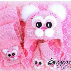 Diy Crafts - Crochet Hat Patterns For Women For Kids 51 Ideas Bonnet Crochet, Crochet Baby Hats, Crochet Beanie, Crochet For Kids, Crochet Clothes, Baby Knitting, Knitting Hats, Summer Knitting, Knitted Hats Kids