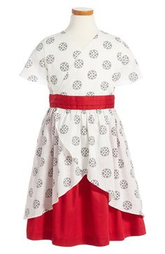 Tea Collection Izanami Wrap Dress (Toddler Girls, Little Girls & Big Girls) available at #Nordstrom