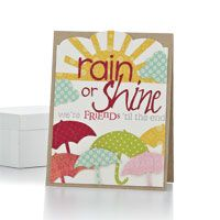 Rain or Shine Card by @Betsy Veldman - supplies and instructions included