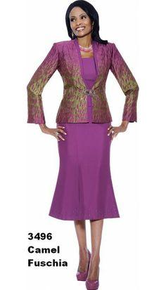Fuschia Church Suit 3496 By Susanna