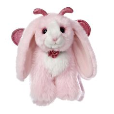 "10"" Aurora Plush Pink Bunny Rabbit Bunnipillers Easter Stuffed Animal Toy NEW #Aurora"