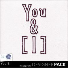 "You & I Monograms - ""Together we can face any challenges as deep as the ocean and as high as the sky."" Sonia Gandhi"