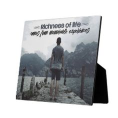 Shop Richness Of Life Plaque created by PersonalDevelopment. Inspirational Quotes, Life, Life Coach Quotes, Inspiring Quotes, Quotes Inspirational, Inspirational Quotes About, Encourage Quotes, Inspiration Quotes, Motivation Quotes