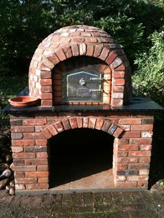 Pizza oven build brick oval - Feuerstelle garten - Pizza oven build brick oval Informations About Pizzaofen bauen Ziegel oval Pin You can easily use my - Clay Pizza Oven, Build A Pizza Oven, Pizza Oven Kits, Bread Oven, Wood Oven Pizza, Stone Pizza Oven, Pizza Kitchen, Brick Oven Outdoor, Brick Bbq