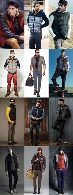Men's Casual, Heritage and Workerwear-inspired Gilet Outfit Lookbook