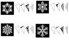 Image result for paper snowflakes patterns