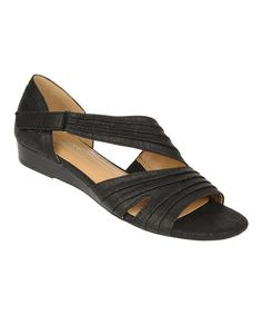 Ladie Clarks Ordell Becca tan ou noir en cuir Casual Mary Jane Style Chaussures