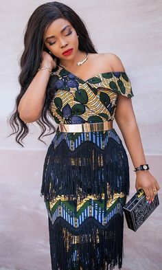 Short African Dresses, Ankara Short Gown Styles, Latest African Fashion Dresses, African Print Dresses, African Print Fashion, Africa Fashion, Women's Fashion, Luanna, Classy Dress