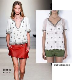 Isabel Marant vs Suiteblanco