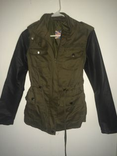 Limited as I love this, but have only worn it once as I live in south Florida. London Girls, South Florida, Military Jacket, Live, My Love, How To Wear, Jackets, Fashion, Down Jackets