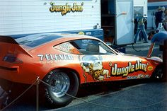 70s Funny Cars - Jungle Jim drove this car once before his death.