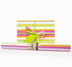 Inky Co.'s Carnival Stripes roll wrap