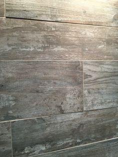 @Daltile's wood-look porcelain tile was used throughout The New American Home by the NAHB. #blogtourkbis #tnah2016