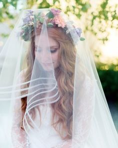 14 Pinterest-Worthy Hairstyles for Curly Hair | Martha Stewart Weddings