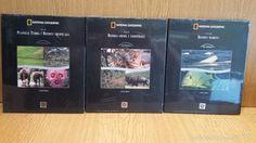 NATIONAL GEOGRAPHIC. BIOSFERA. 10 DVD EN 3 VOLÚMENES. ED / ENCICLOPÈDIA CATALANA / PORECINTADO.