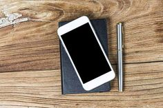 Wooden Background, Phone, Ear Phones, Telephone, Mobile Phones