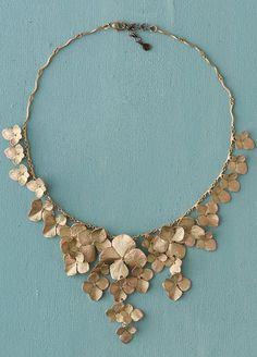Hydrangea Petals Necklace