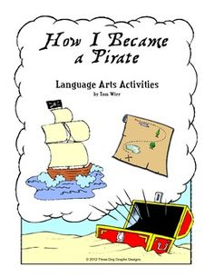 "This set of language arts activities is based on the the popular story ""How I Became a Pirate"" written by Melinda Long."