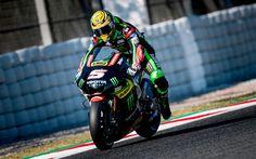 Download wallpapers Johann Zarco, MotoGP, Monster Yamaha Tech 3, Yamaha YZR-M1, French motorcycle racer