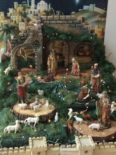 All Things Christmas, Christmas Home, Christmas Crafts, Christmas Decorations, Xmas, Christmas Ornaments, Holiday Decor, Christmas Nativity Scene, Christmas Villages