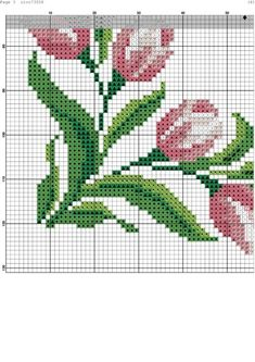 Hand embroidery, Pink and burgundy flowers, Add your text, E … – Flower İdeas Cross Stitch Bird, Beaded Cross Stitch, Cross Stitch Borders, Cross Stitch Flowers, Cross Stitch Designs, Cross Stitching, Cross Stitch Embroidery, Embroidery Patterns, Hand Embroidery