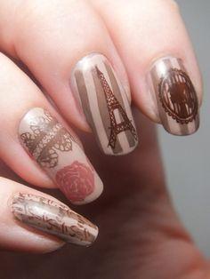 nail-art-paris-carte-postale-vintage-retro-bundle-monster-create-your-own-smoky-brown-desert-haze-chocolate-elf-eyeslipsface-jane-nailmatic-...