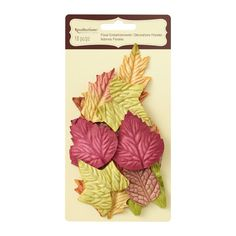 Little leaves inside each party favor! +++++ Mulberry Paper Leaves by Recollections™ Signature™Mulberry Paper Leaves by Recollections Signature