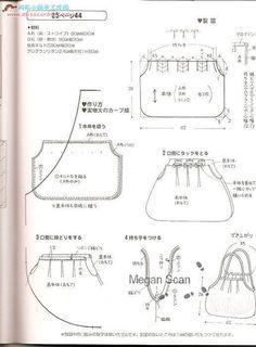 moldes de bolsas de tecido - Pesquisa Google