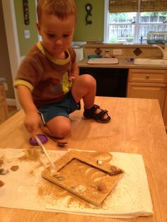 Ideas for preserving (and using) things from a family trip to the beach