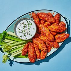 From classic buffalo wings and nachos to Korean fried chicken, we've got the Super Bowl appetizer recipes you need. Buffalo Chicken Sauce, Sauce For Chicken, Chicken Wing Recipes, Boneless Chicken Wings, Grilled Chicken Wings, Nachos, Appetizer Recipes, Appetizers, Bar Recipes