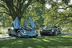 Mclaren and Ferrari Mclaren F1, Sweet Cars, Automotive Design, Dream Cars, Ferrari, Bike, Vehicles, Compact, Sports