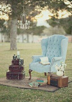 Check out these 38 Shabby Chic Reception Ideas. Follow @weddingwire for more inspiration!