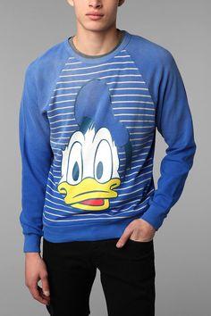Donald Duck Crew Sweatshirt  #UrbanOutfitters