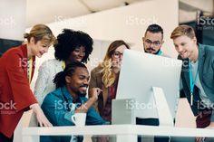 Creative Startup Office Team Brainstorming. stock photo 68652835 - iStock