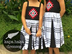 Random Crafting Adventures: Kapa Haka Dresses for Uniting Nations Week
