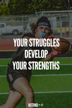 Strength does not come from winning. Your struggles develop your strengths.  #FootballQuotes #SportQuotes #Motivation #Inspiration #Football #Nxtrnd #Training Best Football Quotes, Motivational Quotes For Athletes, Trippy Wallpaper, Football Gloves, Leg Sleeves, Mouth Guard, Sport Quotes, Motivation Inspiration, Life Quotes