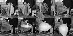 The making of an Akari Light Sculpture at the Ozeki Lantern Co. headquarters in Gifu, Japan.