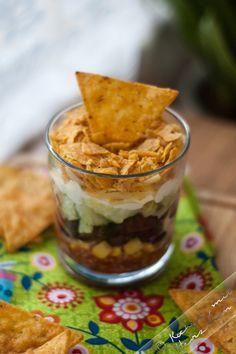 Kochen mit Herzchen - ♥ Mein Koch-Tagebuch mit viel Herz ♥: Nachosalat im Glas