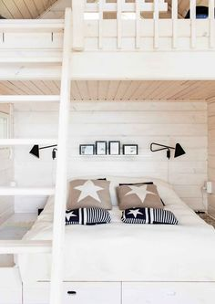 7 Fast And Easy Summer Decorating Ideas For Any Budget! Scandinavian Cottage, Scandinavian Style, Hygge, White Cabin, Top Of Cabinets, Used Cardboard Boxes, Other Rooms, Coastal Style, Decorating On A Budget