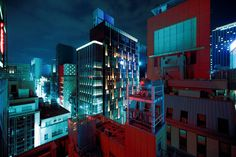 Lukasz Kazimierz Palka | Red Roofs, Ginza, Tokyo - 2016
