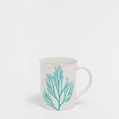 Image 1 of the product Coral porcelain mug
